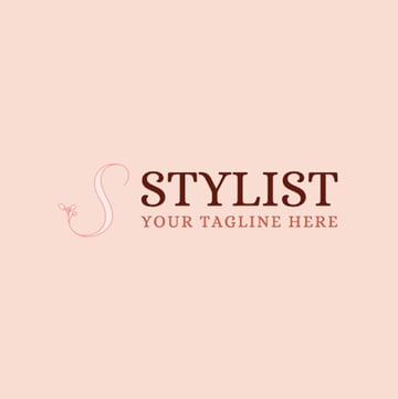 Stylist Logo Maker with Floral Graphics