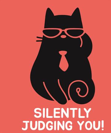 Business Cat T-Shirt Design Maker