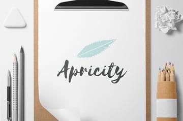 Apricity Logo Template