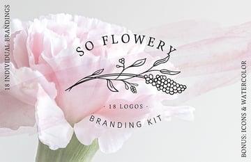 So Flowery Branding Kit