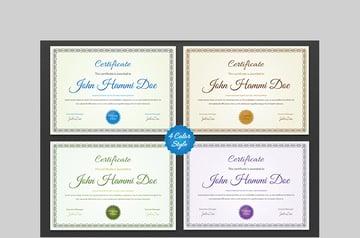 Clean Simple Certificate