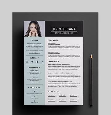 Minimal Clean Resume