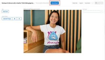 Download Your T Shirt Mockup