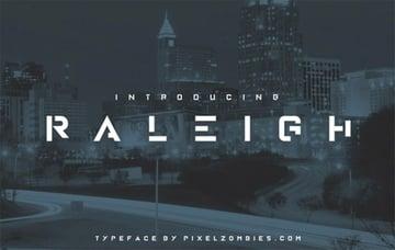 Raleigh Font
