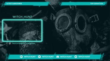 Twitch Overlay Maker for Medieval Gaming Livestreams