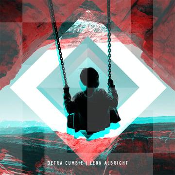 Cool Electro Album Cover Design Template