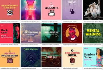Select an album cover you like