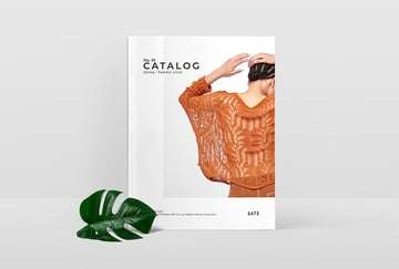 Just one of the many stunning product catalogue design templates on offer at Envato Elements