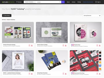 Best Source for Item and Product Catalogue Design Templates