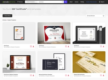 Best Source for Creative Certificate Template Designs