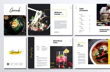 GRANDE Restaurant  Food Brochure
