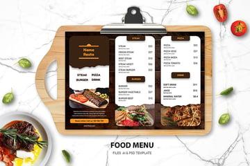 Restaurant Food Menu