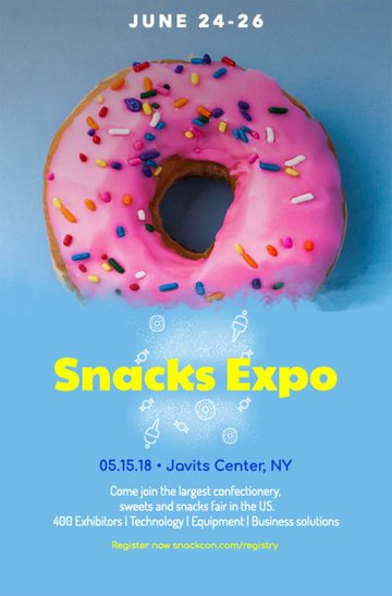 Colorful Flyer Creator for Promotions and Trade Shows
