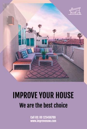 House Improvement Company Flyer Maker