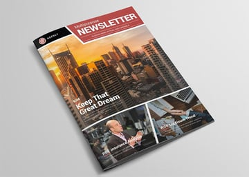 Publishers Newsletter Template