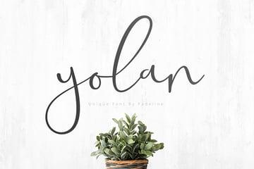 Yolan Free Font