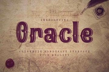 Oracle - Retro Vintage Font