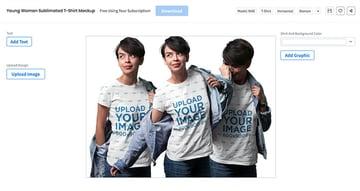 Blank Sublimation Shirts