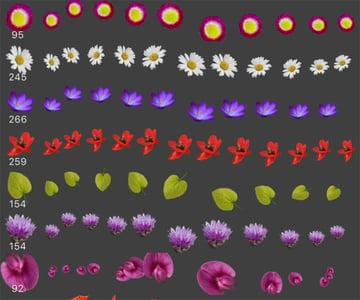 FLOWER POWER Free Affinity Brushes