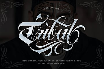 Tribal Tattoo Ink Font