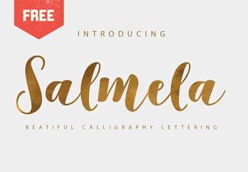 SALMELA - Free Script Font