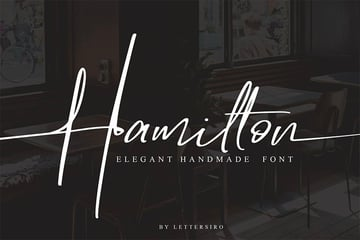 Hamilton - Elegant Signature Font