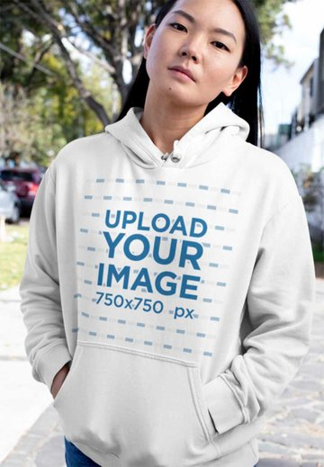 Awesome Blank Hoodie Template