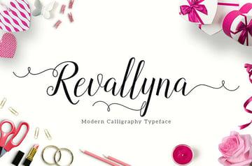 Revallyna Script OTF TTF