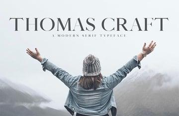 Thomas Craft A Modern Serif Typeface