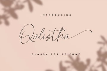 Qalistha Swash Flourish Font