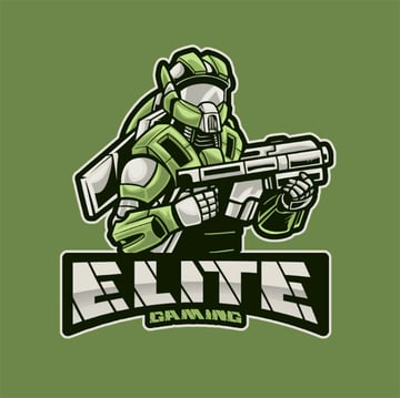 Gaming Logo Maker Featuring Futuristic Robotic Warriors