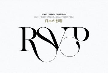 KENJO Japanese Style Font
