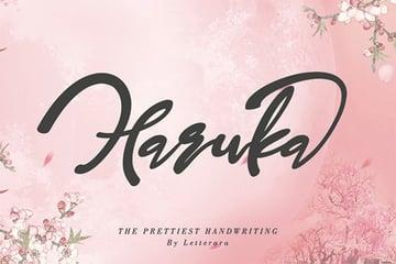 Haruka - Japanese Writing Style