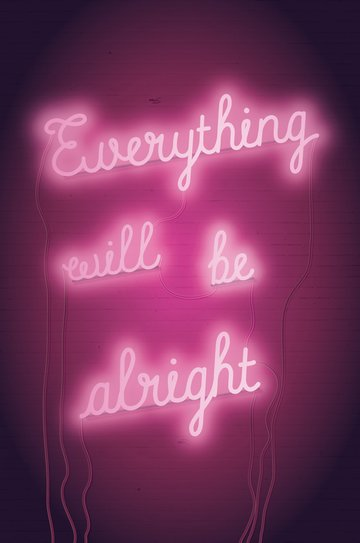 How to Create an Everything Will Be Alright Neon Poster in Adobe InDesign