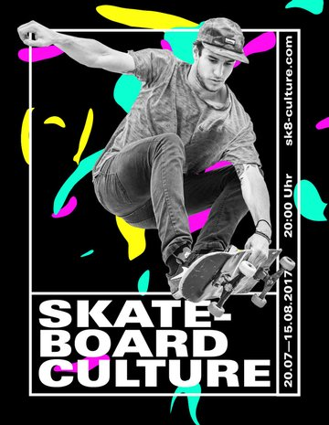 How to Create a High-Contrast Skateboard Flyer in Adobe Photoshop