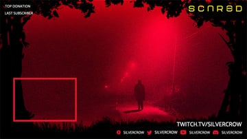 Custom Twitch Overlay Template With Web Frame
