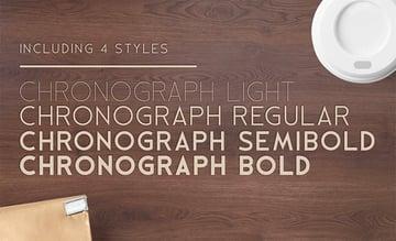 Chronograph typeface