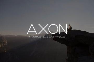 Axon font
