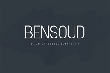 Bensoud typeface