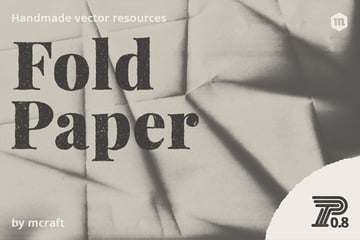 Hi-Res Fold Paper Texture Overlays