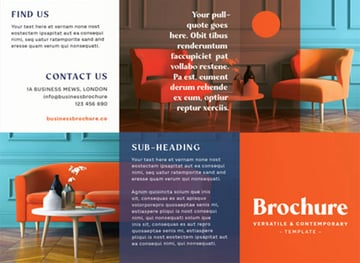 FREE Tri-Fold Brochure in Affinity Publisher