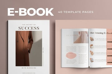 Photoshop Book Template
