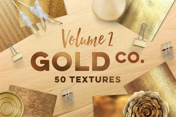 50 Gold Texture Photoshop