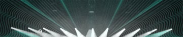 SoundCloud Banner Featuring Wave Pattern and Concert Lights