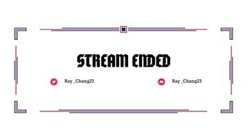 Twitch Overlay Design Template