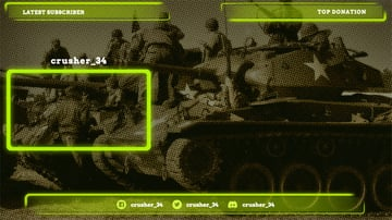 Stream Camera Overlay Template