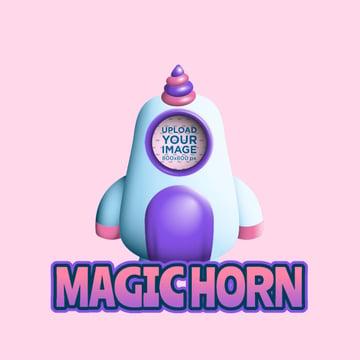 Custom Twitch Emote Featuring a Unicorn