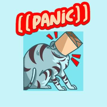 Custom Twitch Emote Featuring a Cat Illustration