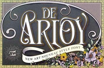 Art Nouveau Font Microsoft Word