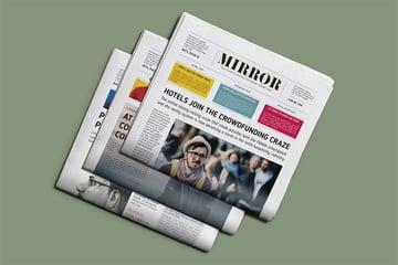 Newspaper Headline Template